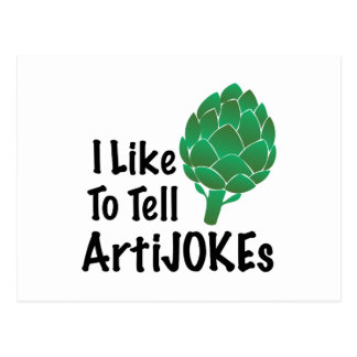 Tell Artijokes Postcard