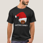 Tell Black Santa What You Want for Christmas T-Shirt