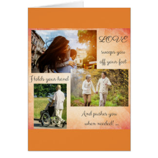 Tell hem how much you Love them! Card