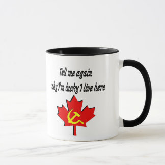 tell me again mug