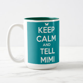 TELL Mimi Two-Tone Coffee Mug