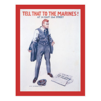 Tell That To World War 2 Postcard