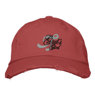 Tell the world that you're God's Girl! Embroidered Hat