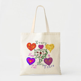 Tell Yours Tote Bag