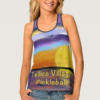 Tellico Village Pickleball Sunset Singlet