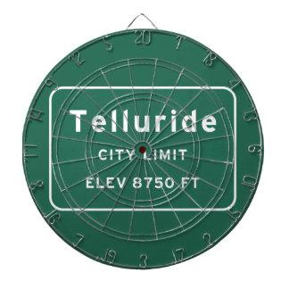 Telluride Colorado co Interstate Highway Freeway : Dartboard