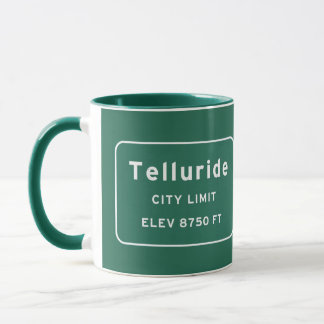 Telluride Colorado co Interstate Highway Freeway : Mug