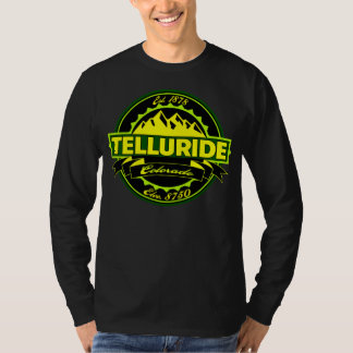 Telluride Label Green and Gold T-Shirt