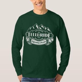 Telluride Mountain Emblem White T-Shirt