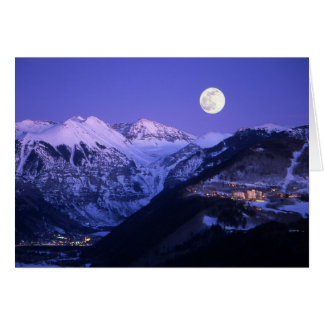 Telluride Poor Person - Moonlight Card