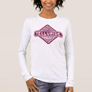 Telluride Raspberry Diamond Long Sleeve T-Shirt
