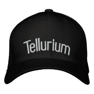 Tellurium Embroidered Baseball Caps