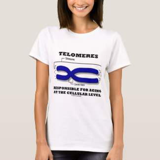 Telomeres Responsible For Aging At Cellular Level T-Shirt