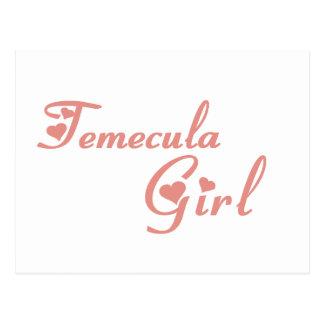 Temecula Girl tee shirts Postcard