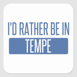 Tempe Square Sticker
