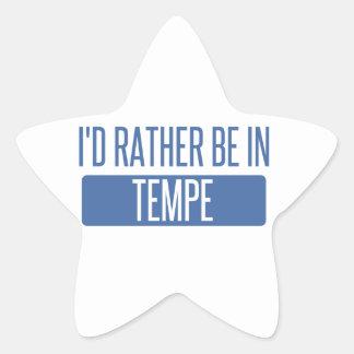 Tempe Star Sticker