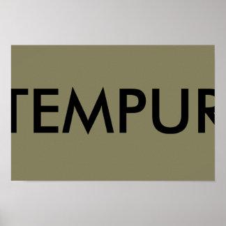 temper poster