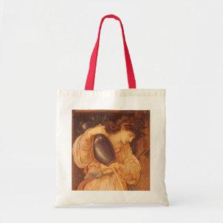 Temperantia by Burne Jones, Vintage Victorian Art Canvas Bags