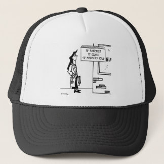 Temperature Cartoon 2008 Trucker Hat