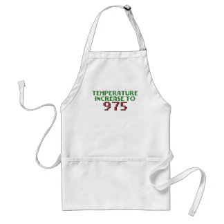 Temperature Increase to 975 Standard Apron