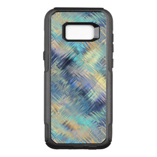 Tempered Rainbow Glass Abstract OtterBox Commuter Samsung Galaxy S8+ Case