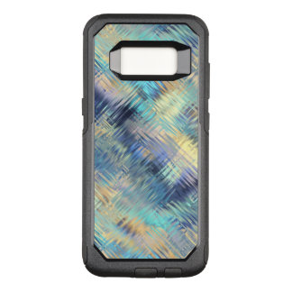 Tempered Rainbow Glass Abstract OtterBox Commuter Samsung Galaxy S8 Case