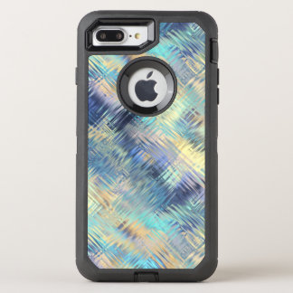 Tempered Rainbow Glass Abstract OtterBox Defender iPhone 8 Plus/7 Plus Case