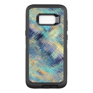 Tempered Rainbow Glass Abstract OtterBox Defender Samsung Galaxy S8+ Case