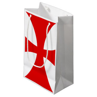 Templar Cross Small Gift Bag