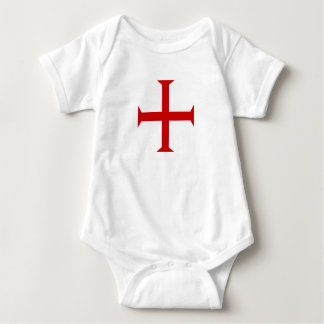 templar knights red cross malta teutonic hospitall baby bodysuit