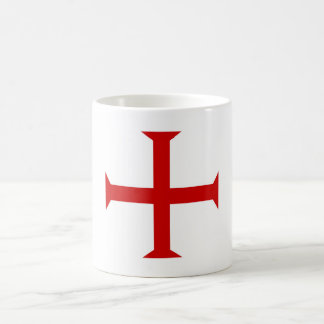 templar knights red cross malta teutonic hospitall coffee mug
