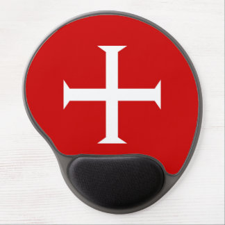 templar knights red cross malta teutonic hospitall gel mouse pad