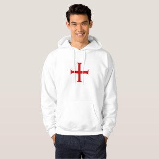 templar knights red cross malta teutonic hospitall hoodie