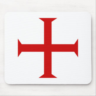 templar knights red cross malta teutonic hospitall mouse pad