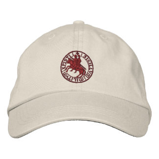 Templar knights seal - sigillo templari embroidered baseball caps