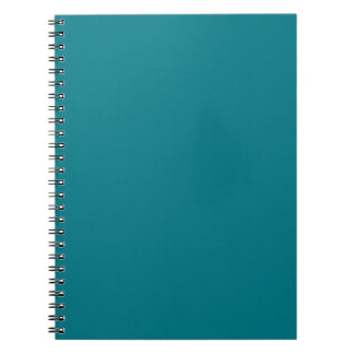 Template 12 color choices DIY ADD your text image Spiral Note Book