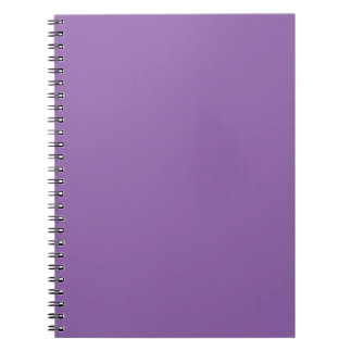 Template 12 color choices DIY ADD your text image Spiral Notebook