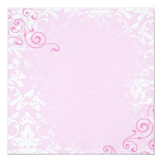 template 13 cm x 13 cm square invitation card