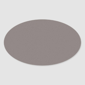 Template Blank Add your image text elegant grey Oval Sticker