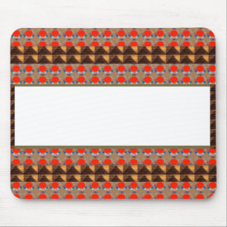 Template Border add TEXT Jewel FASHION lowprice Mouse Pad