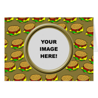 Template, Burger Border Card