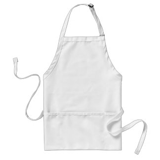 Template  Cartoons easy customize add text photo Standard Apron