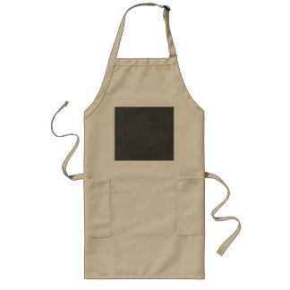 Template - Chalkboard Background Customize Long Apron