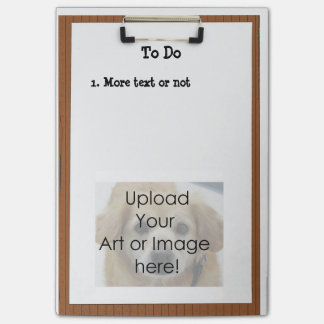 TEMPLATE - Clipboard Post-it® Note Note Post-it® Notes
