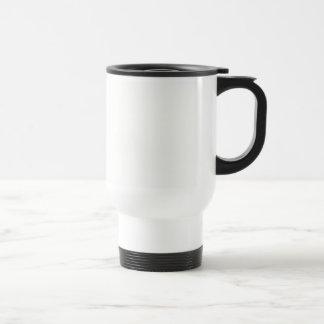 Template diy Add text photo change color Travel Mug