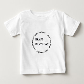 Template DIY Blanks easy to add TEXT PHOTO IMAGE Baby T-Shirt