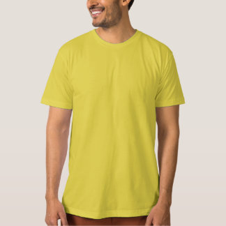 Template DIY  customize ORGANIC T-SHIRT Dijon YELO