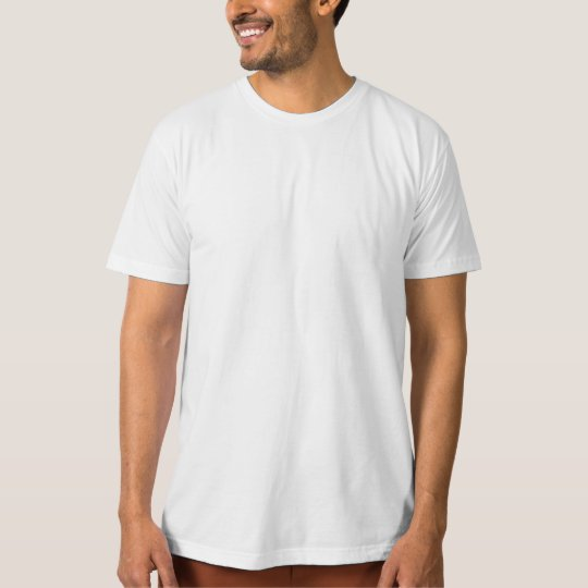 Template DIY easy customise ORGANIC T-SHIRT
