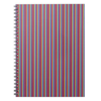 Template DIY gifts Creative lines colorful stripes Note Books
