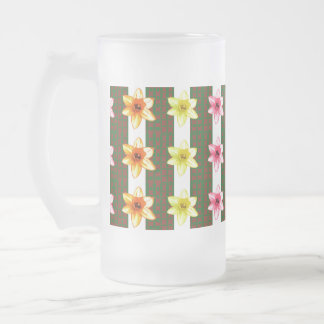 TEMPLATE editable delete add TEXT PHOTO base color Frosted Glass Mug
